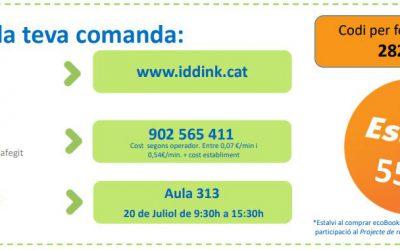 IDDINK: Reutilització i compra de llibres 19/20