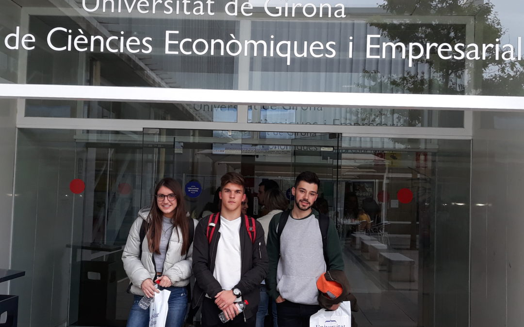 Olimpíada d'Economia a la Universitat de Girona