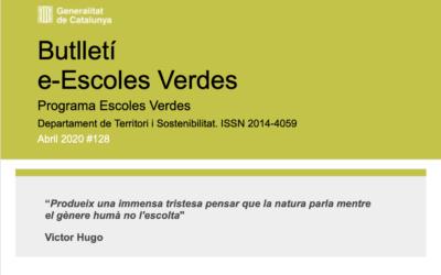 Butlletí e-Escoles Verdes Abril 2020#128