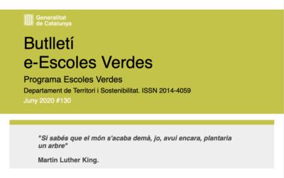 Butlletí e-Escoles Verdes Juny 2020#130