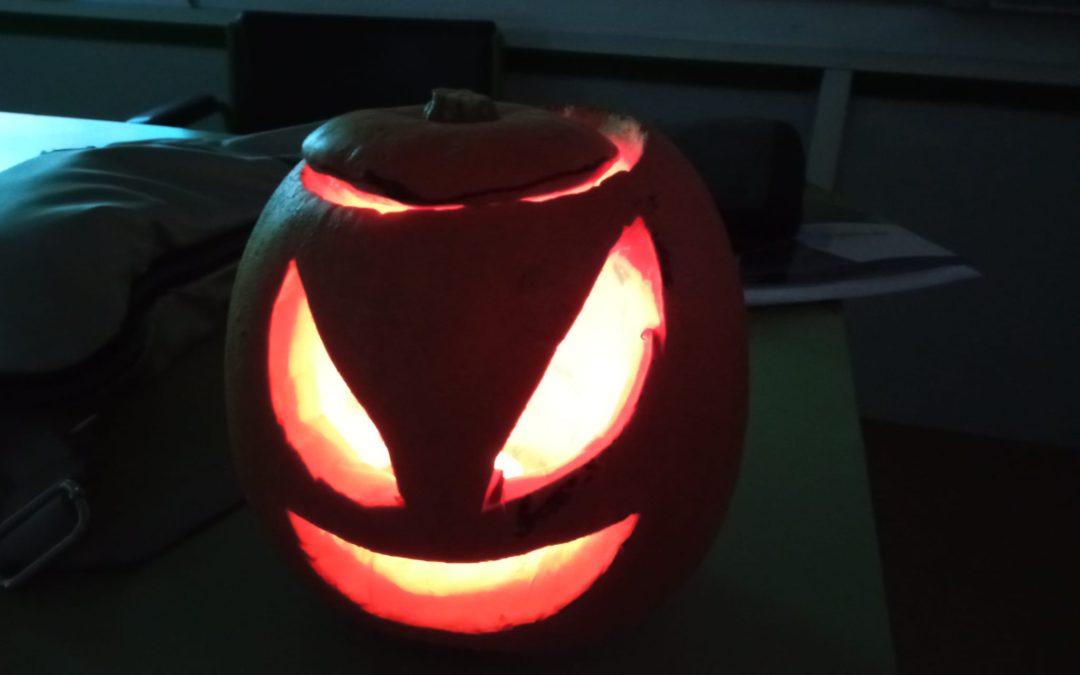 Fun and scary Halloween activities done by our ESO students