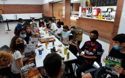 Celebració de la cloenda del Club de lectura